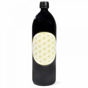 Miron Waterfles Flower of Life Goudkleurig- 1000 ml