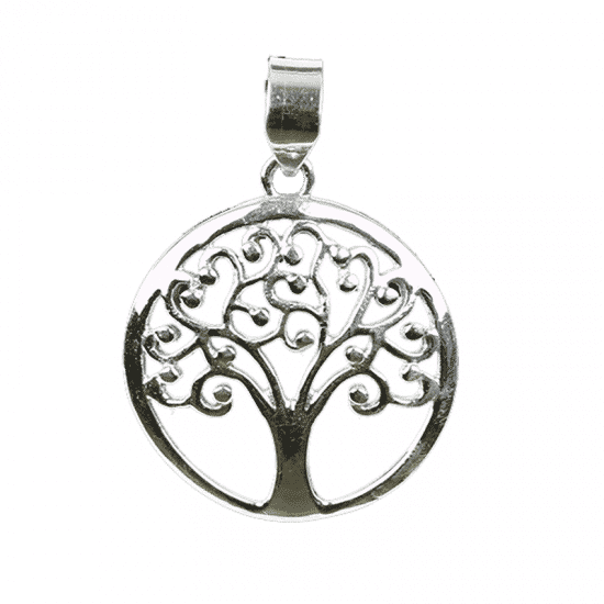 Tree of Life Hanger 925 Zilver