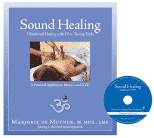 Boek en DVD over Stemvorken - Sound Healing with Tuning Forks