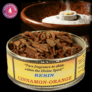 Wierookhars Cinnamon-Orange
