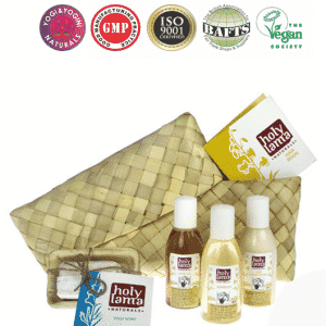 Holy Lama Naturals Ayurvedische Travel Kit 'Hair Boon'
