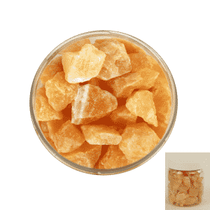 Calciet Oranje Chips in Pot