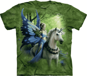 T-Shirt Mountain Artwear Realm of Ench M