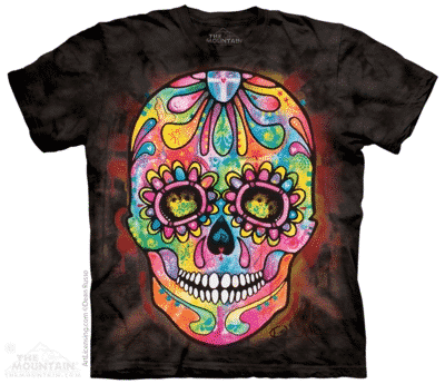 T-Shirt Mountain Artwear Day of the Dead M