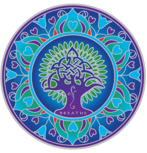 Raamsticker Earth Mandala