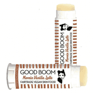 Good Boom Biologische Vegan Lippenbalsem Morning Vanilla Latte