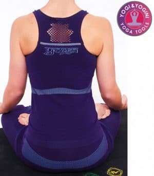 Yoga Top Lotus Naadloos Paars – M-L