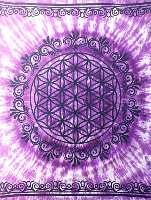 Wandkleed Flower of Life