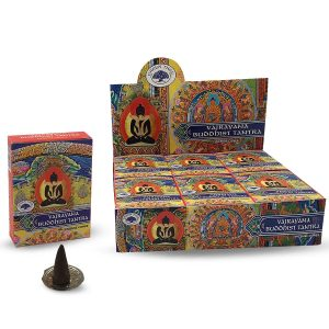 Green Tree Wierook Kegel Buddhist Tantra (12 pakjes)