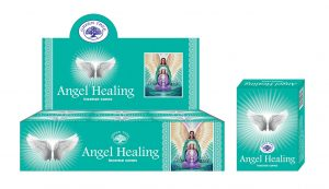 Green Tree Wierook Kegel Angel Healing (12 pakjes)