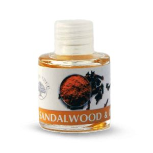 Green Tree Geurolie Sandalwood & Clove (10 ml)