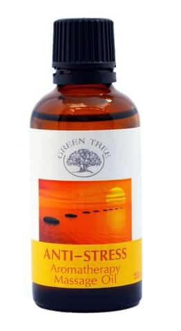 Green Tree Massage Olie Anti Stress
