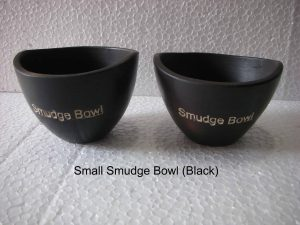 Smudge Bowl Small Zwart