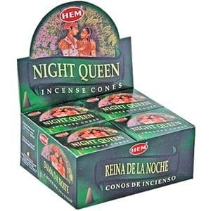 HEM Wierook Kegel Night Queen (12 pakjes)