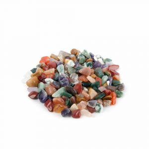 Trommelstenen India Mix (5-10 mm) - 100 gram