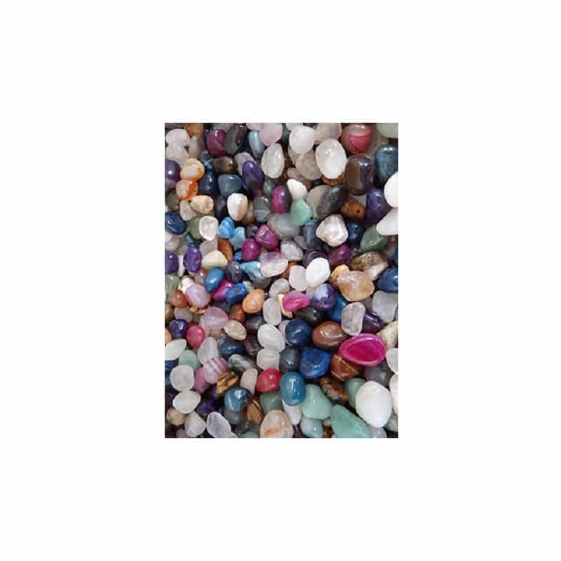 Trommelstenen Agaat Mix Gekleurd (10-20 mm) – 100 gram