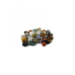 Trommelstenen India Mix (10-20 mm) - 100 gram