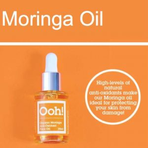 Oils of Heaven Vegan Organic Moringa Anti-Oxidant Face Oil