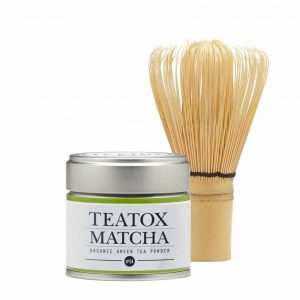 Teatox Vegan Thee Starter Set – Matcha en Bamboo Brush