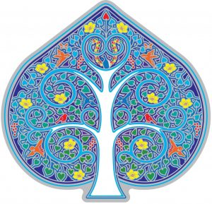 Raamsticker Tree of Life