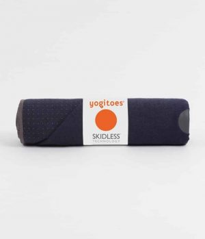 Manduka Yogitoes Skidless Yoga Handdoek - Midnight