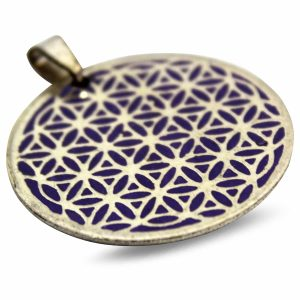 Hanger - Flower of Life (Paars)