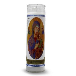 Bedrukte Kaars Mother of Perpetual Help