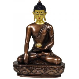 Shakyamuni Buddha Antique Style Golden Pot