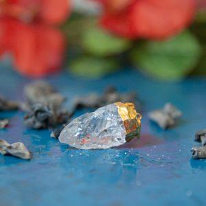 Hanger Ruwe Natuurlijke Bergkristal – 6 cm