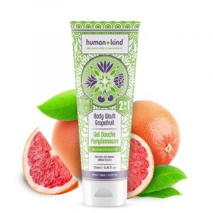Human + Kind Shower Mousse Grapefruit Delight Vegan