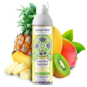 Human + Kind Shower Mousse Tropical Splash Vegan