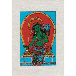 Green Tara Kaart (Set van 4)