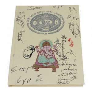 Notitieboek Hardcover Ganesha Large
