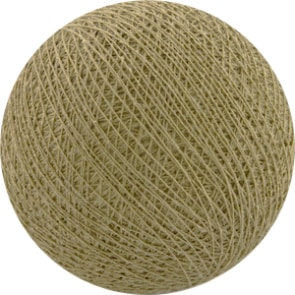 25 losse Cotton Ball's (Beige)