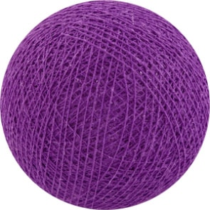 25 losse Cotton Ball's (Magenta)