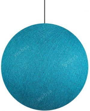 Cotton Ball Hanglamp Donker Aqua (Large)
