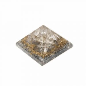 Orgonite Piramide Mini Bergkristal (25 mm)