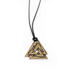 Talisman Viking Valknut Authentiek