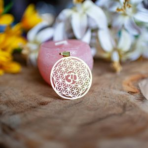 Flower of Life hanger met OHM