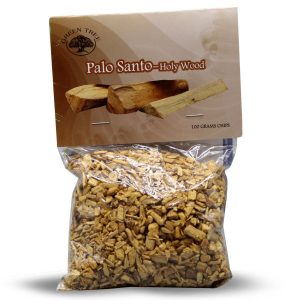 Green Tree Palo Santo Wood Chips (100 gram)