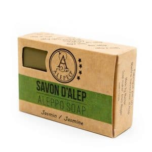 Aleppo Zeep Jasmijn - 8% Laurel Bay Oil - 100 gram