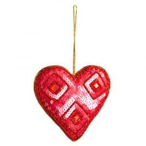 Hanger Ornament Traditioneel Schild (32 cm)